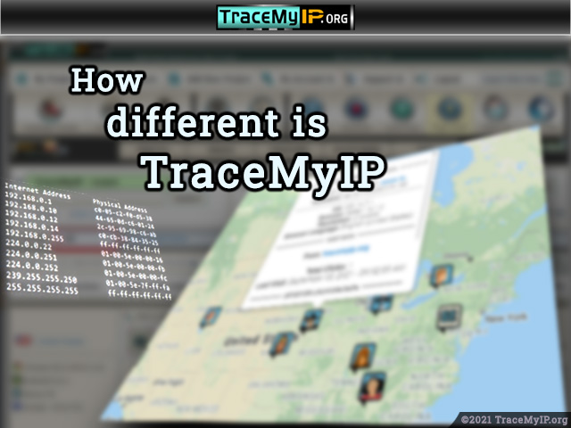 How different is TraceMyIP for visitor tracking?