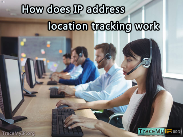 How does IP address location tracking work