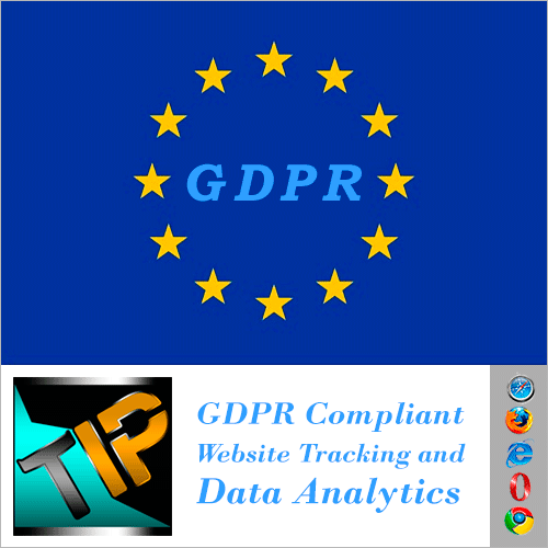 GDPR compliant website tracking and analytics software